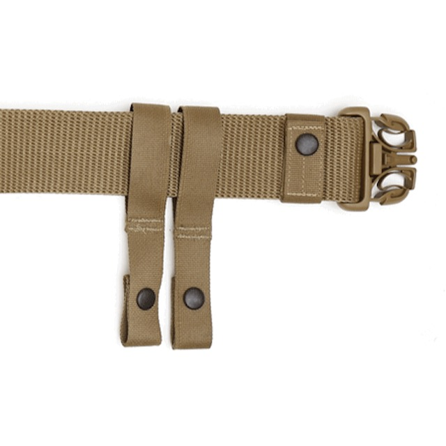 US(米軍放出品)MOLLE タクティカル ピストルベルト [SPEC OPS IBA Combat Battle Belt][Coyote]