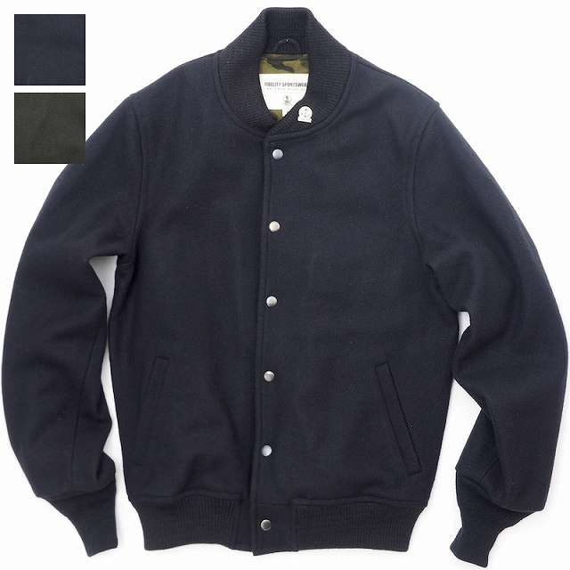 FIDELITY SPORTSWEAR(フィデリティ スポーツウェア) ショートウールジャケット [MADE IN U.S.A][2色]