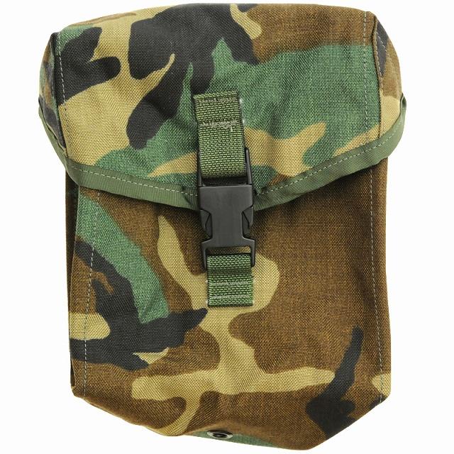 US(米軍放出品)MOLLE 200RD Ammo/General Purpose Pocket Style4030 Woodland [200ラウンド アモ/ジェネラルパーパスポケット][MOLLE][SDS製]