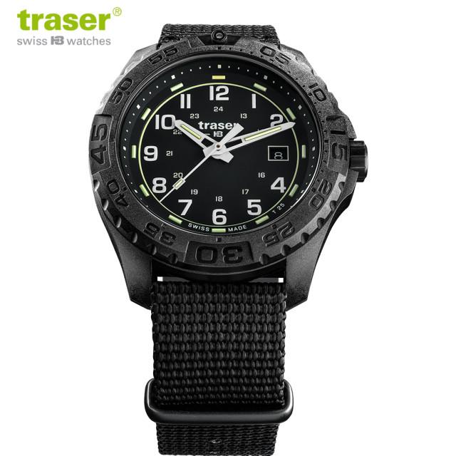 Traser(トレーサー)P96 OdP Evolution Black ミリタリー ウォッチ [108673]