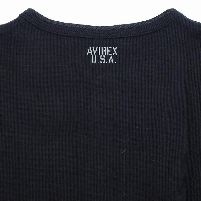 AVIREX(アヴィレックス)DAILY ヘンリーネック[2色]