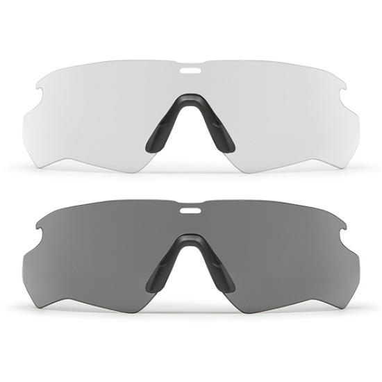 ESS(イーエスエス)CROSSBLADE用交換レンズ [クロスブレイド スペアレンズ][2色][スモークグレー/102-189-003 クリア/102-189-004]
