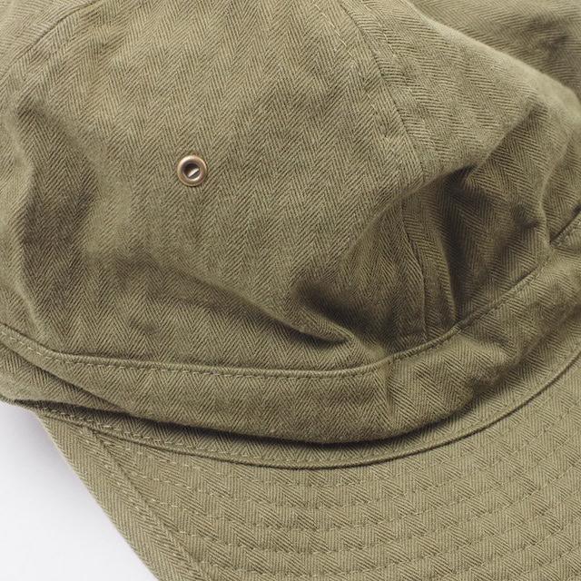 BUZZ RICKSON'S(バズリクソン)HATS,HERRINBONE TWILL CAP [BR02669]