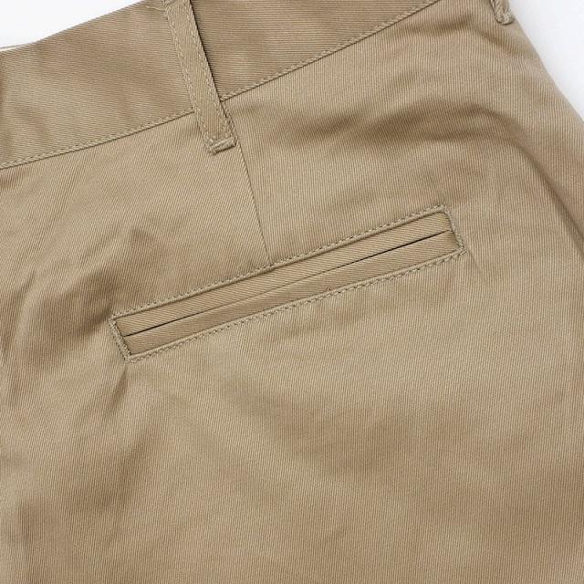SESSLER(セスラー)Chino Khaki Pants  チノ カーキ パンツ ジッパーフライ 1971モデル ビンテージ復刻【中田商店】