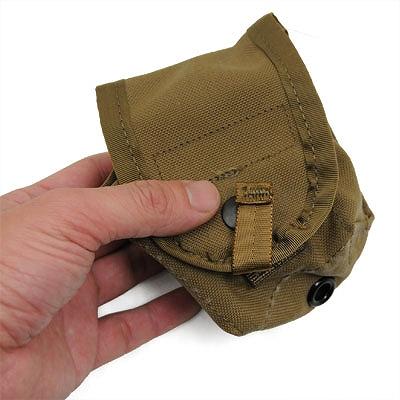 US(米軍放出品)MOLLE II ハンドグレネード ポーチ [Coyote][Hand Grenade Pouch]
