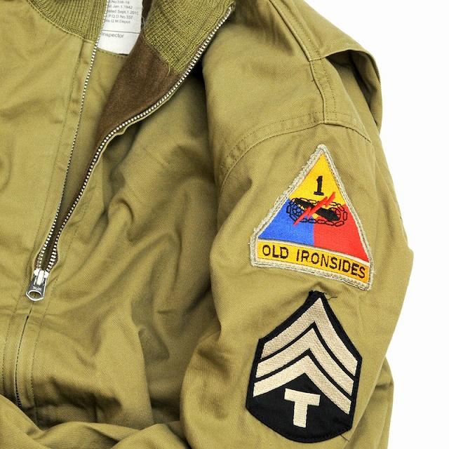SESSLER(セスラー)WW II Tankers Jacket 後期型 パッチ付き ウォッシュ加工【中田商店】【送料無料】