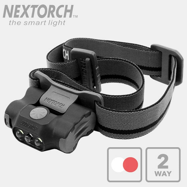 NEXTORCH(ネクストーチ)ECO STAR ライトウェイト マルチモード LEDヘッドランプ