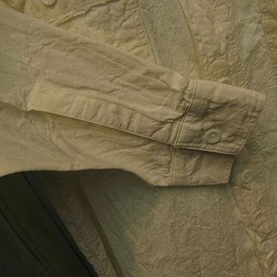 BUZZ RICKSON'S(バズリクソン) L/S CHAMBRAY WORK SHIRT OFF WHITE シャンブレー ワークシャツ オフホワイト [BR25996]