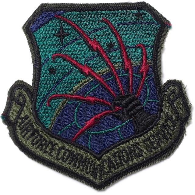 【ミリタリーパッチ】AIR FORCE COMMUNICATIONS COMMAND サブデュード カットエッジ