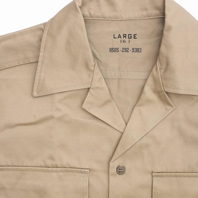 SESSLER(セスラー)ショートスリーブ チノ カーキ シャツ S/S Chino Khaki Shirts 1956 MODEL [チノシャツ]【中田商店】