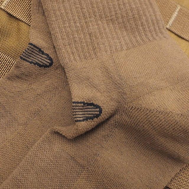 DARNTOUGH TACTICAL(ダーンタフ タクティカル)[T3001] Tactical Micro Crew Light Cushion [Black][Coyote Brown][タクティカル マイクロクルー ライトクッション]