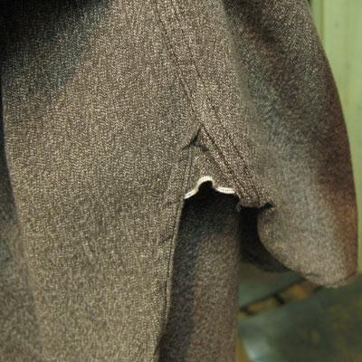 BUZZ RICKSON'S(バズリクソン) L/S CHAMBRAY WORK SHIRT ブラック シャンブレー ワークシャツ ブラック [BR26082]