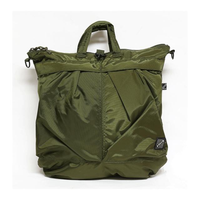 J-TECH(ジェイテック)HELMET BAG 米軍タイプ1970'S ヘルメットバッグ 420デニールナイロン [4色]【中田商店】