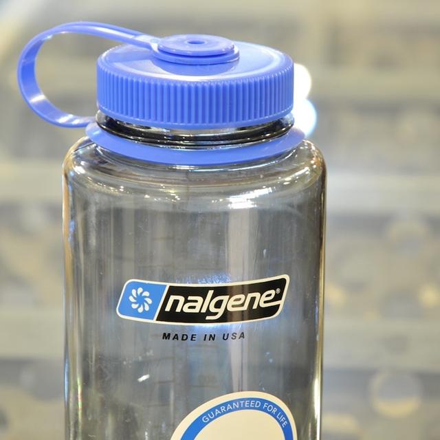 Nalgene(ナルゲン)広口 1.0L Tritan [1リットル広口ボトル][ブルーキャップ]