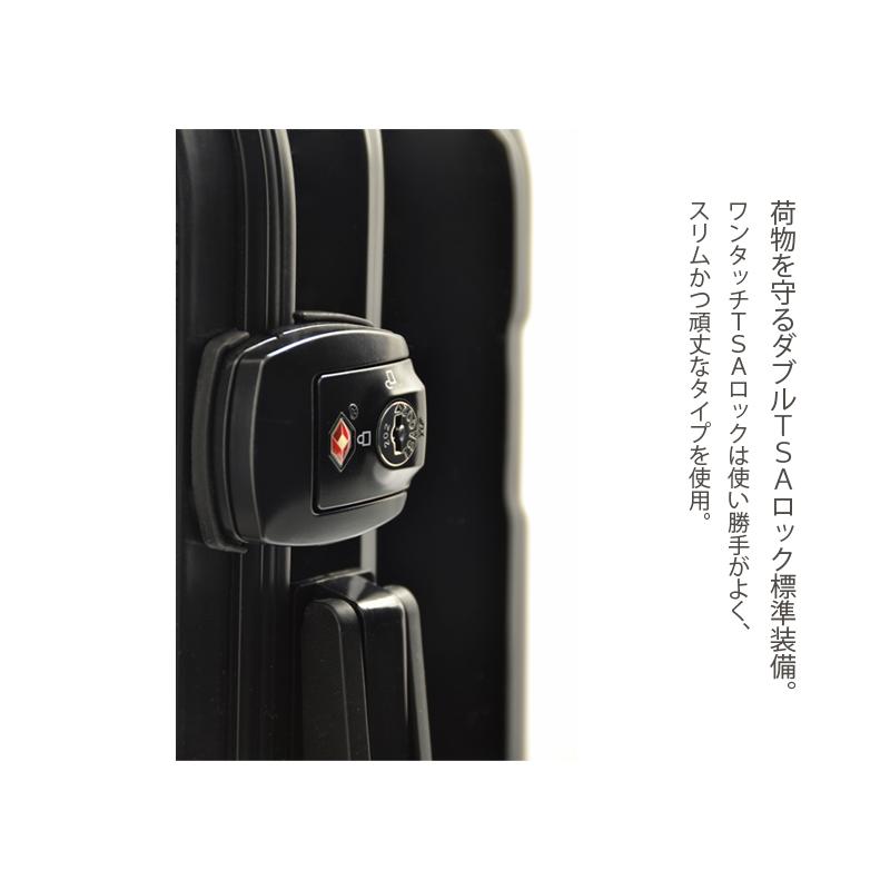 アートスーツケース プロフィトロール ゆるり2(浅青) フレーム4輪 機内持込 キャラート