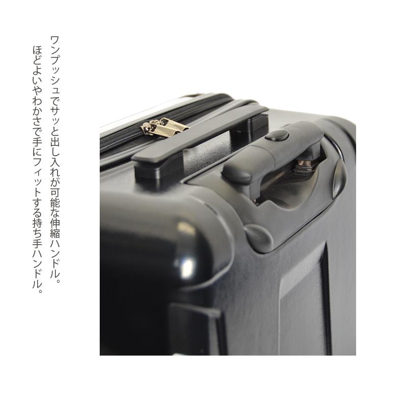 キャラート|アートスーツケース|プロフィトロール スウィート(コーラルピンク)|ジッパー2輪|機内持込