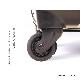 キャラート|アートスーツケース|TETRIS™|テトリス ハート (ホワイト)|フレーム4輪|63L