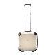 キャラート|アートスーツケース|プロフィトロール スウィート(ブランチアイボリー)|ジッパー2輪|機内持込