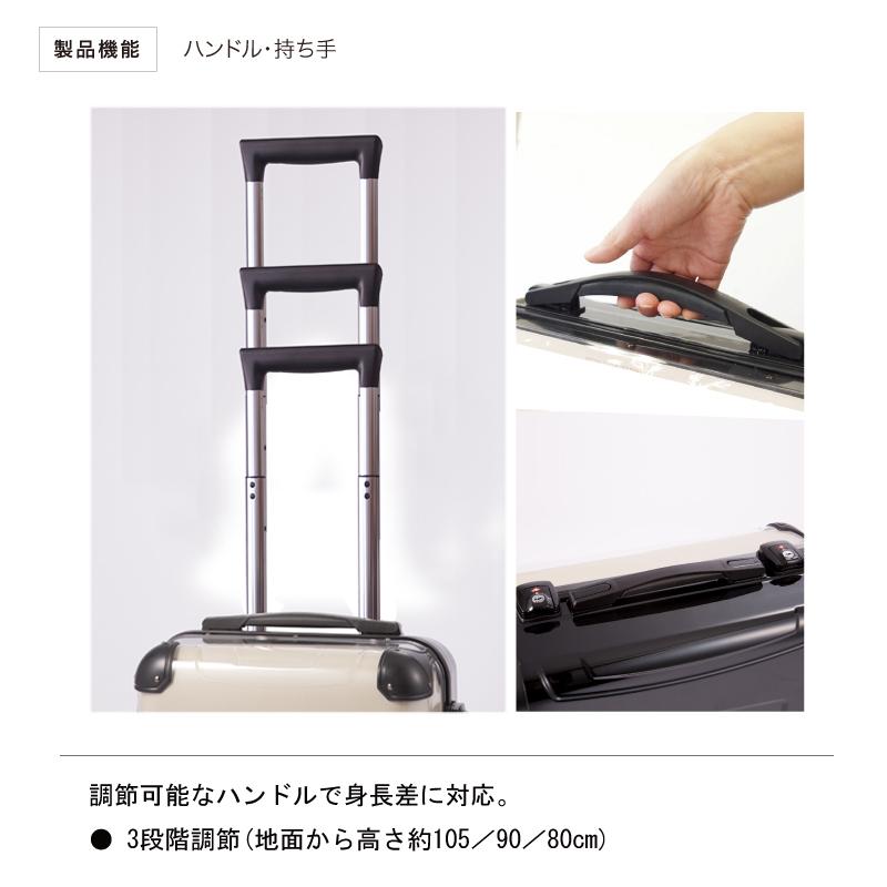 〔オーダーメイド〕 アートスーツケース CR-A01H |前面オリジナルデザイン対応|フレーム4輪 機内持込|キャラート