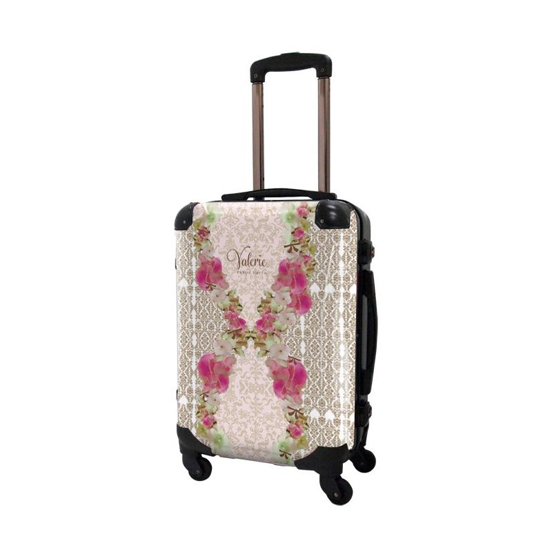 アートスーツケース|Valerie Tabor Smith v07|フレーム4輪|機内持込|キャラート