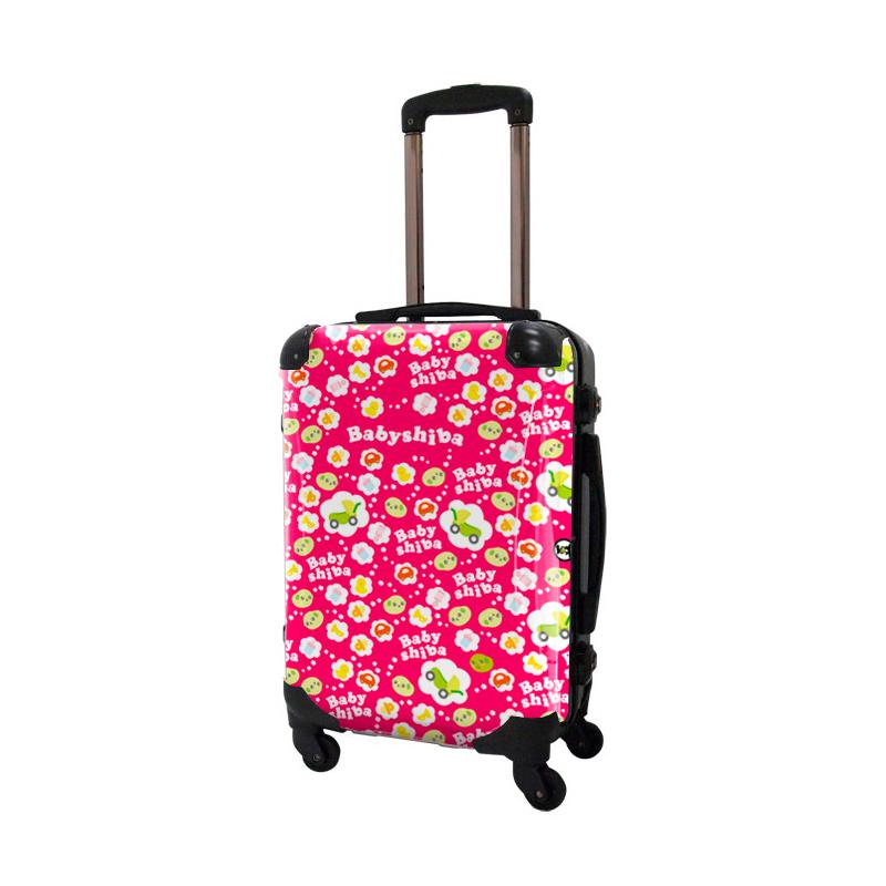 アートスーツケース|ベビしば ベビベビ|フレーム4輪|機内持込|キャラート