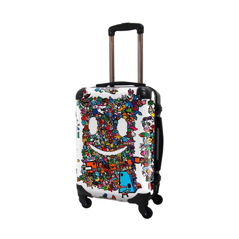 アートスーツケース|TAKU ガチャゴチャ|フレーム4輪|機内持込|キャラート