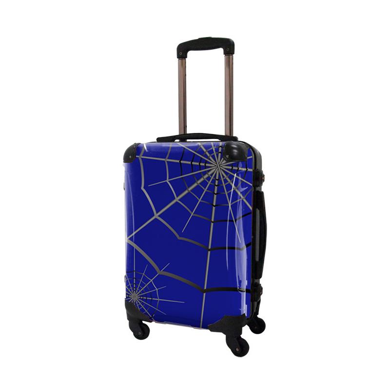 アートスーツケース|広純 SPIDER(ブルー)|フレーム4輪|機内持込|キャラート
