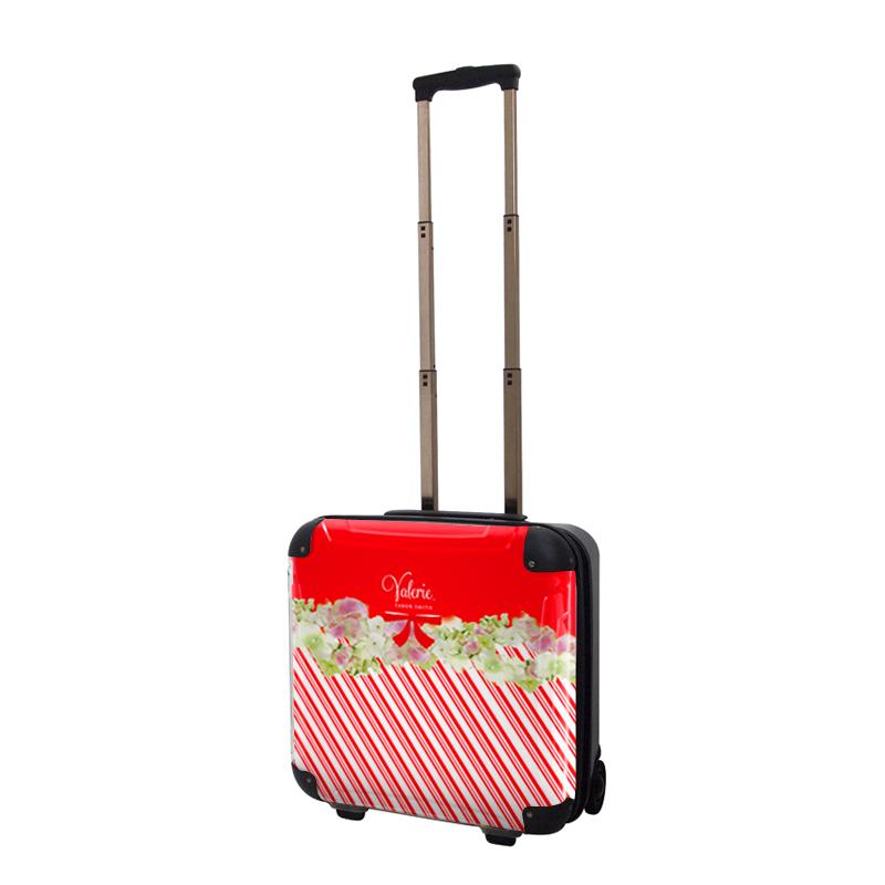 アートスーツケース|Valerie Tabor Smith v09|ジッパー2輪|機内持込|キャラート