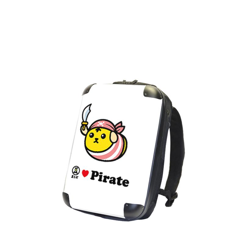 アートリュックサック|豆しば MAMELOVEリュックサック(pirata)|Sサイズ15inch