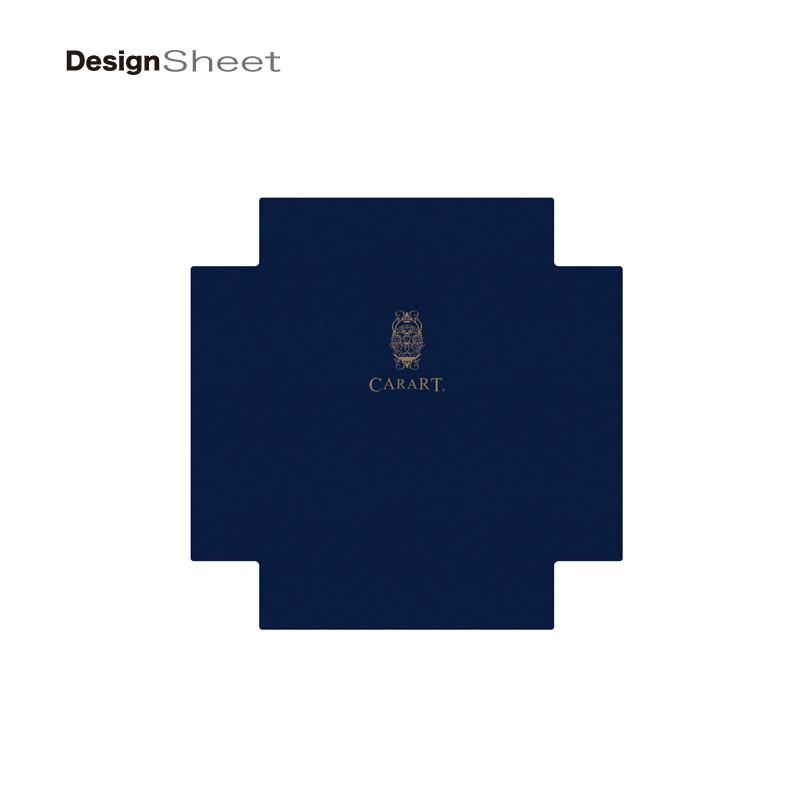 キャラート|着せ替えデザインシート|ビジネス ナイト ネイビー|アートスーツケース CR-B01用
