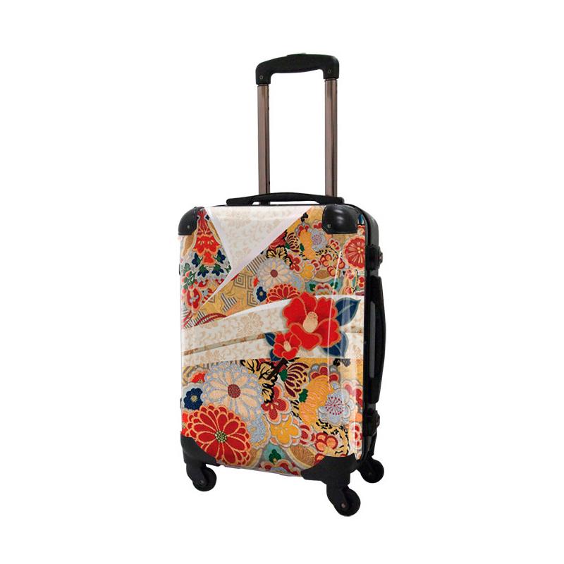アートスーツケース ジャパニーズモダン 美結1 フレーム4輪 機内持込 キャラート