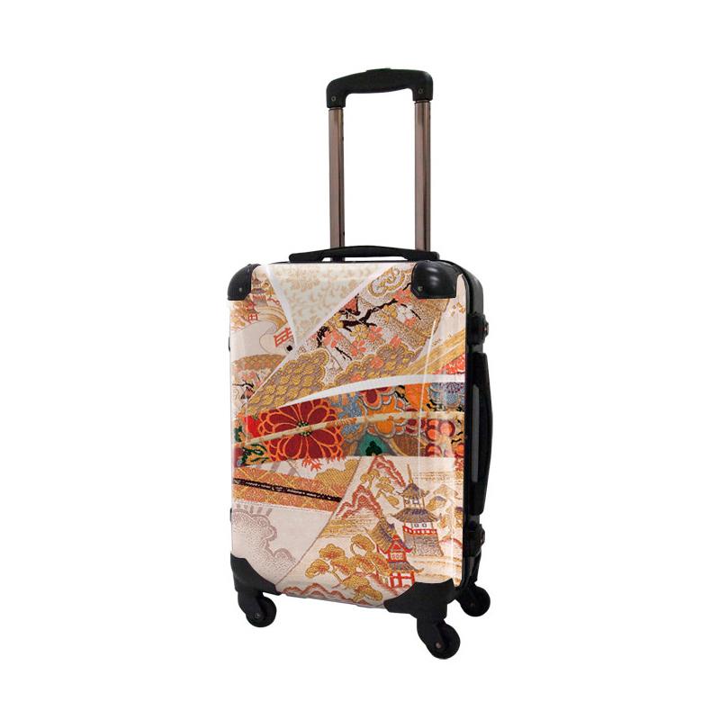 アートスーツケース|ジャパニーズモダン 美結2|フレーム4輪|機内持込|キャラート