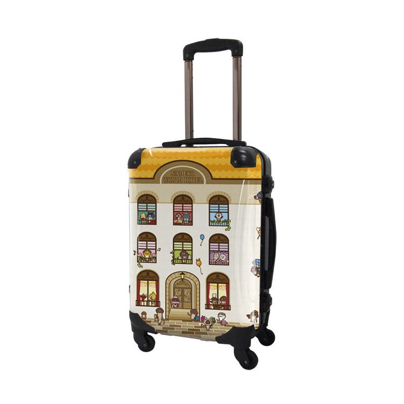 キャラート 着せ替えデザインシート なめこ栽培キット ワールドホテル アートスーツケース CR-A01H用