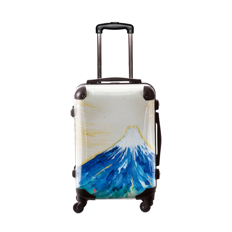 アートスーツケース|古屋育子 mt.Fuji1|フレーム4輪|機内持込|キャラート