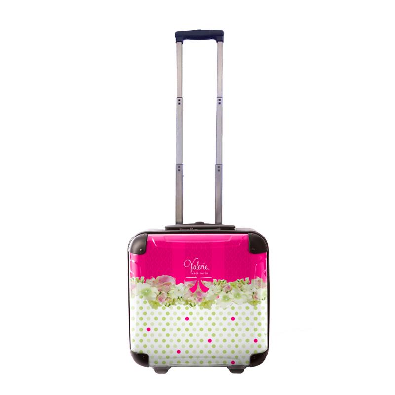 アートスーツケース|Valerie Tabor Smith v08|ジッパー2輪|機内持込|キャラート