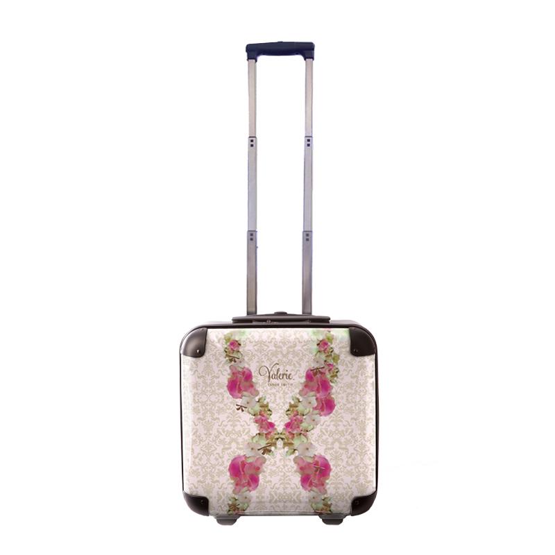 アートスーツケース|Valerie Tabor Smith v07|ジッパー2輪|機内持込|キャラート