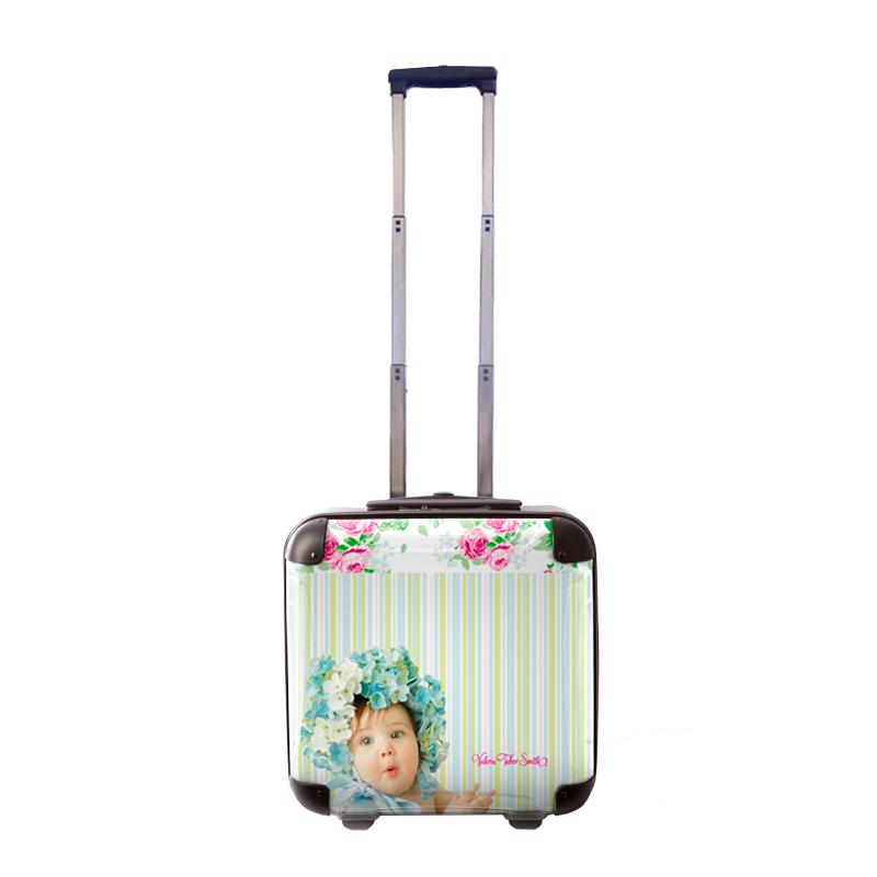 アートスーツケース|Valerie Tabor Smith v03|ジッパー2輪|機内持込|キャラート