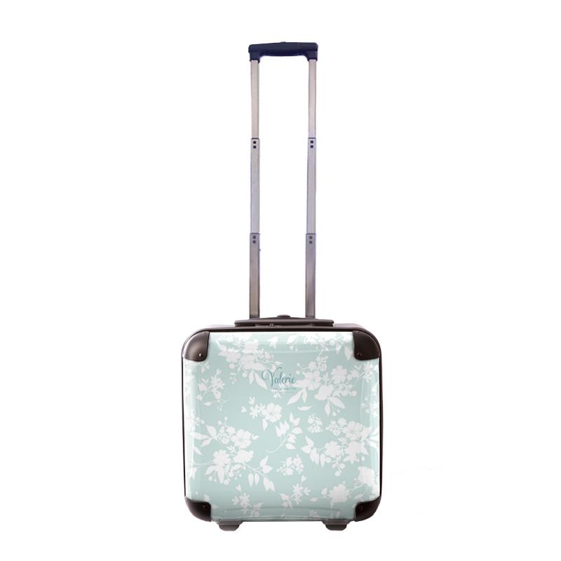 アートスーツケース|Valerie Tabor Smith v02|ジッパー2輪|機内持込|キャラート