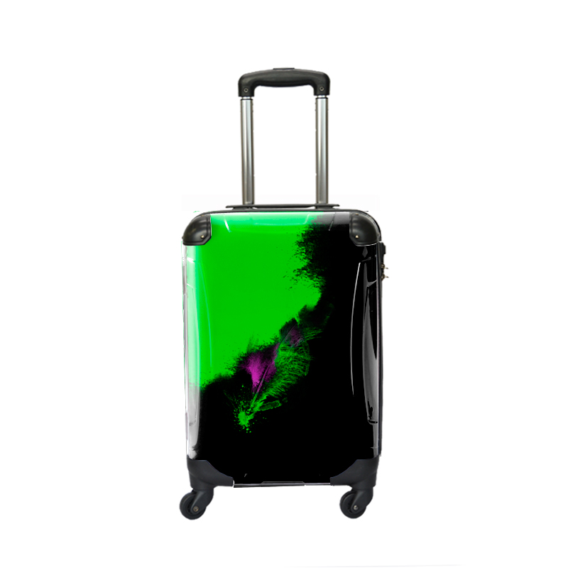 アートスーツケース|NISHI feather|フレーム4輪|機内持込|キャラート