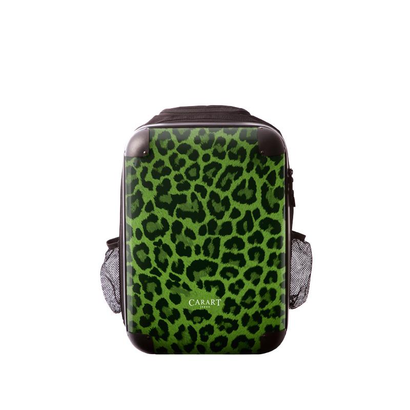 アートリュックサック ベーシック 豹(グリーン) S 15inch M 18inch