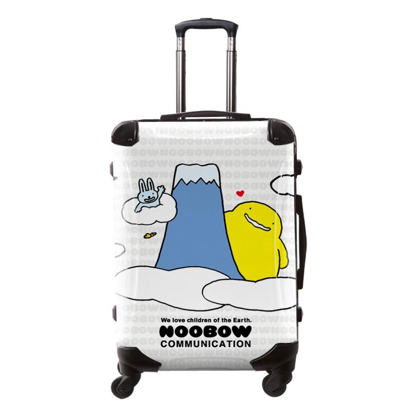 アートスーツケース|ぬ〜ぼ〜 富士山|フレーム4輪|63L|キャラート