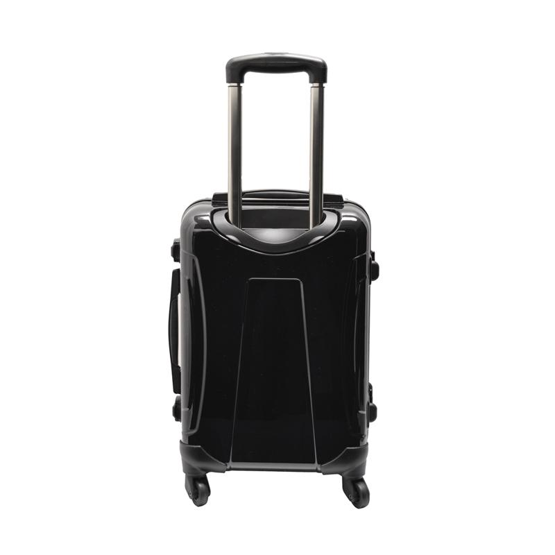 アートスーツケース|ポップニズム アメリカン(レッド×ボルドーゴールド)|フレーム4輪|機内持込|キャラート