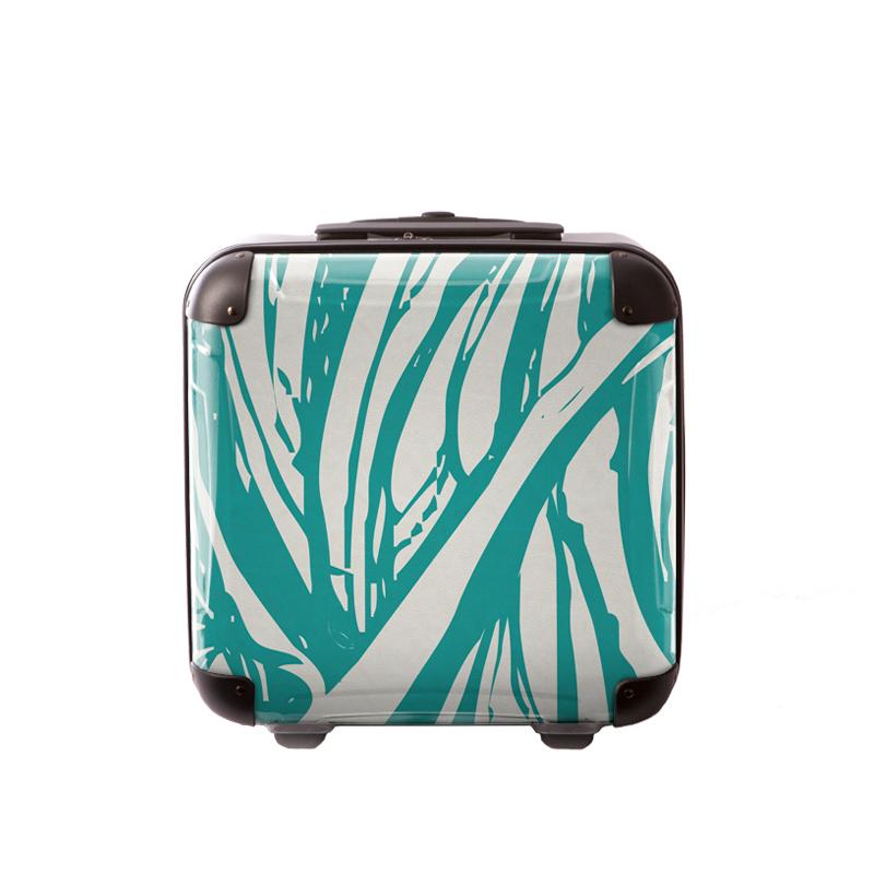 アートスーツケース|ベーシック  ソフィスティ(エメラルド)|ジッパー2輪|機内持込|キャラート