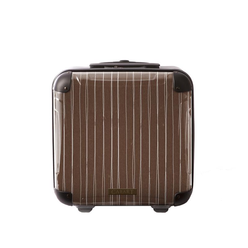 アートスーツケース ジャパニーズ旅趣 線麗(栗色) ジッパー2輪 機内持込 キャラート