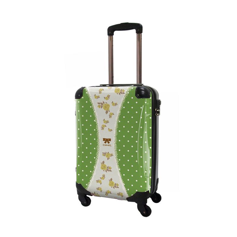 キャラート 着せ替えデザインシート プロフィトロール ゆるり1(抹茶色) アートスーツケース CR-A02用