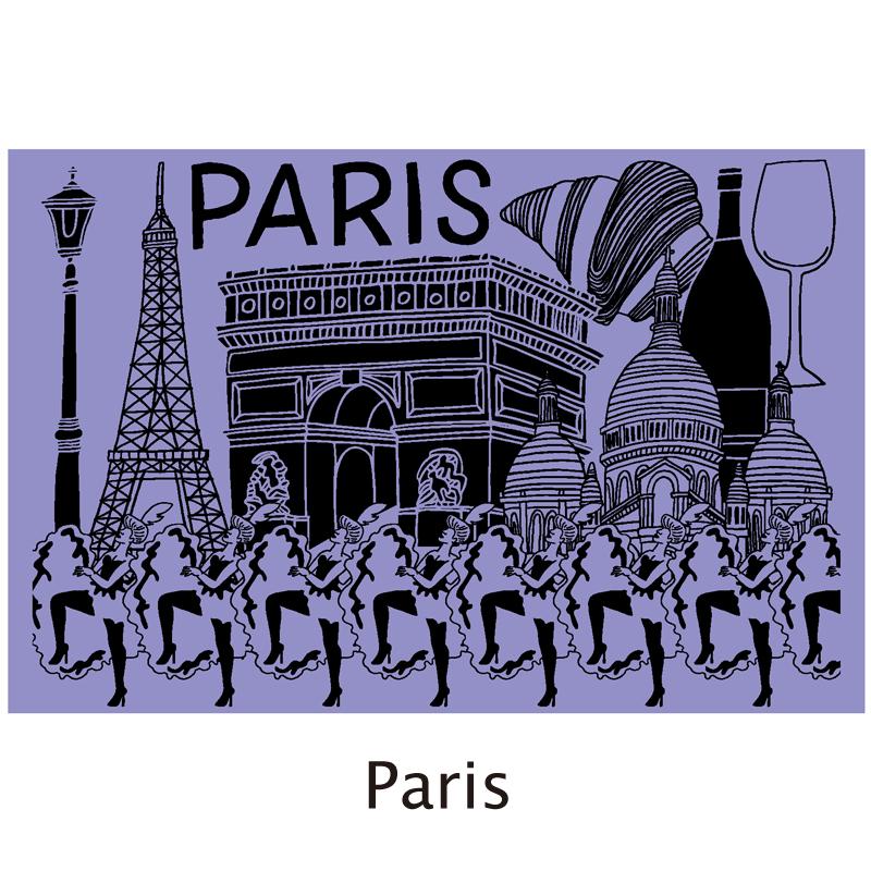 真空シティボトル|PARIS|パープル×ピンク|ALEXYANG