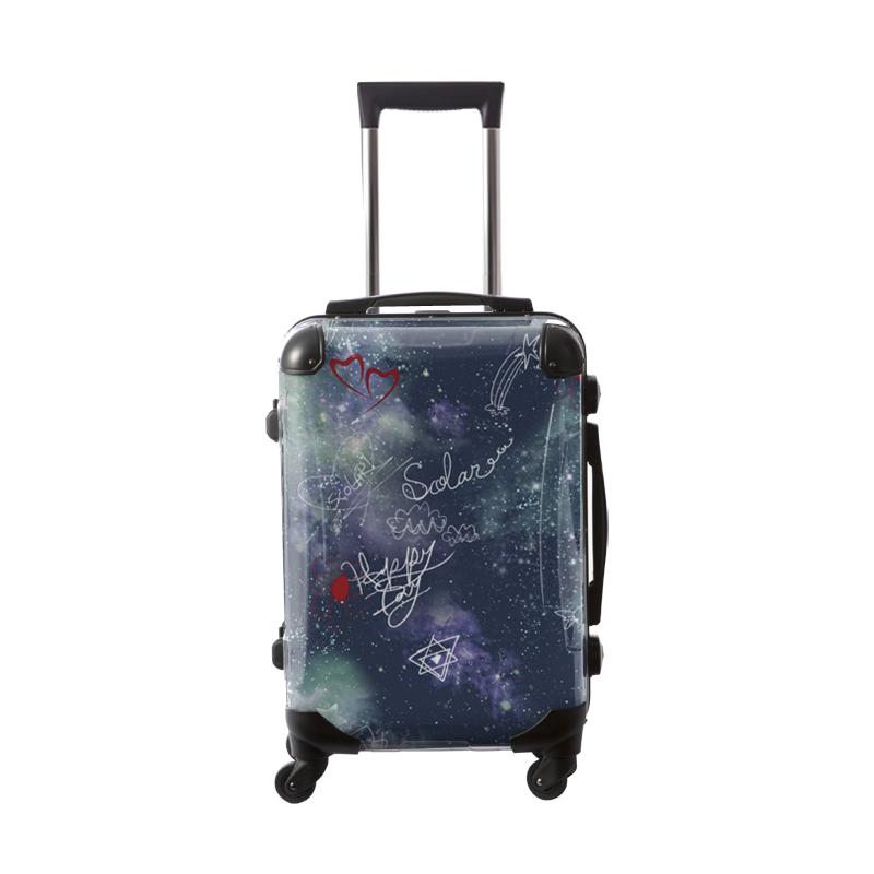 キャラート|アートスーツケース|ScoLar|スカラー宇宙|フレーム4輪|機内持込