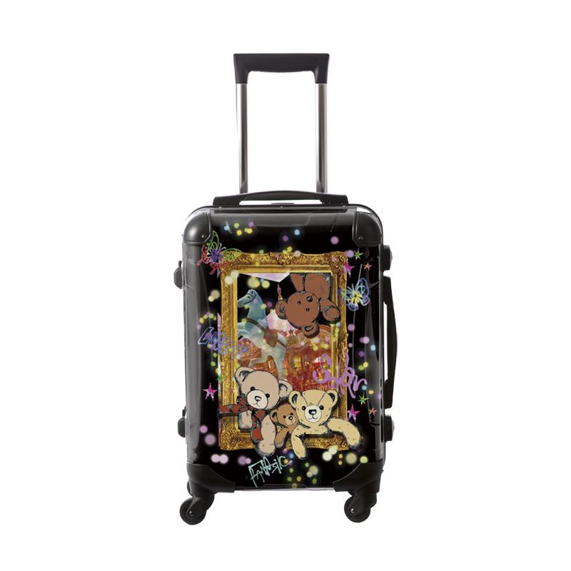 キャラート|アートスーツケース|ScoLar|スカラーベアー|フレーム4輪|機内持込