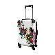 アートスーツケース|ScoLar|スカラー メルヘンポップ|ホワイト|機内持込|キャラート
