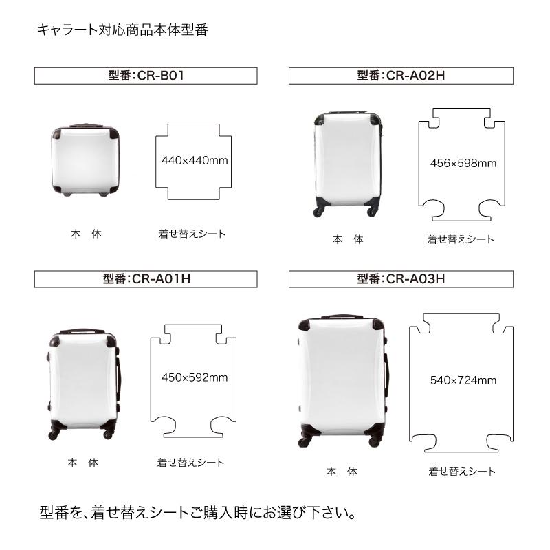 キャラート|着せ替えデザインシート|ScoLar|スカラーコラージュ|アートスーツケース用
